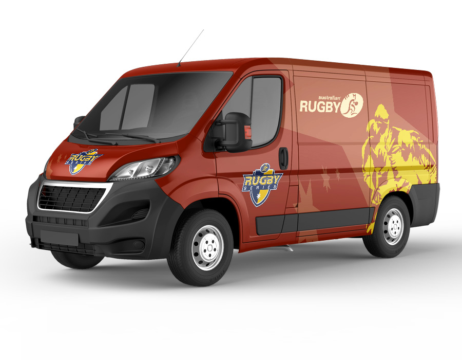 Australian Rugby Union Event Vehicle