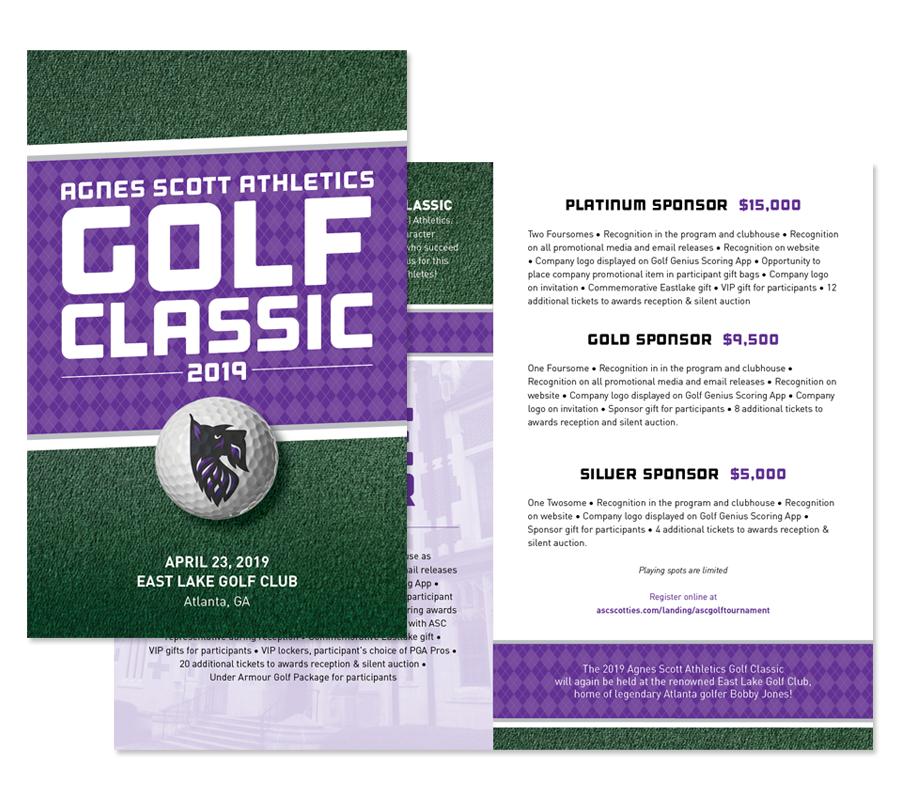Agnes Scott College Special Event Brochure