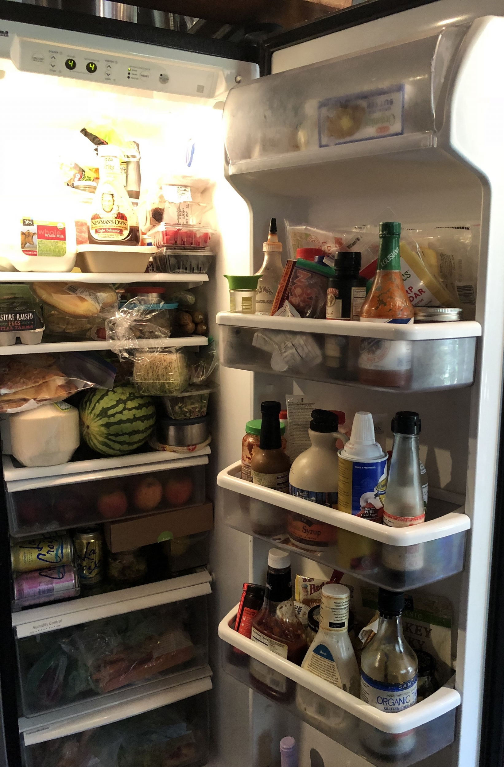 Fridge before Enriched Family