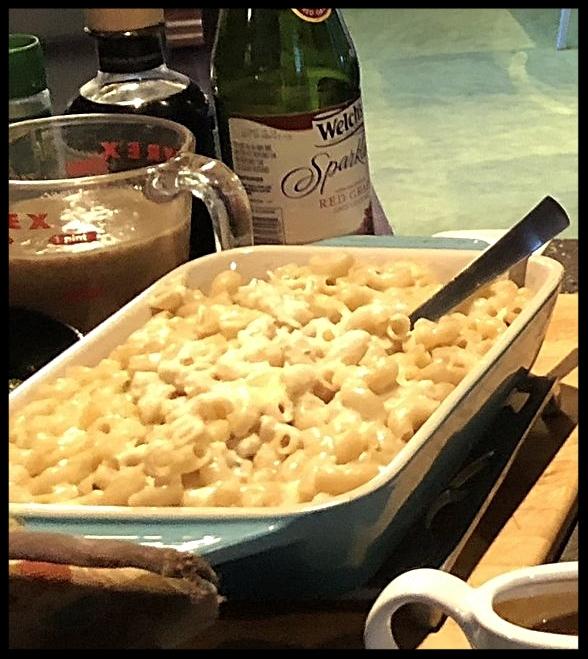 Macaroni and Three Cheeses