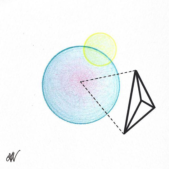 ✏️#drawing #geometric #colour
