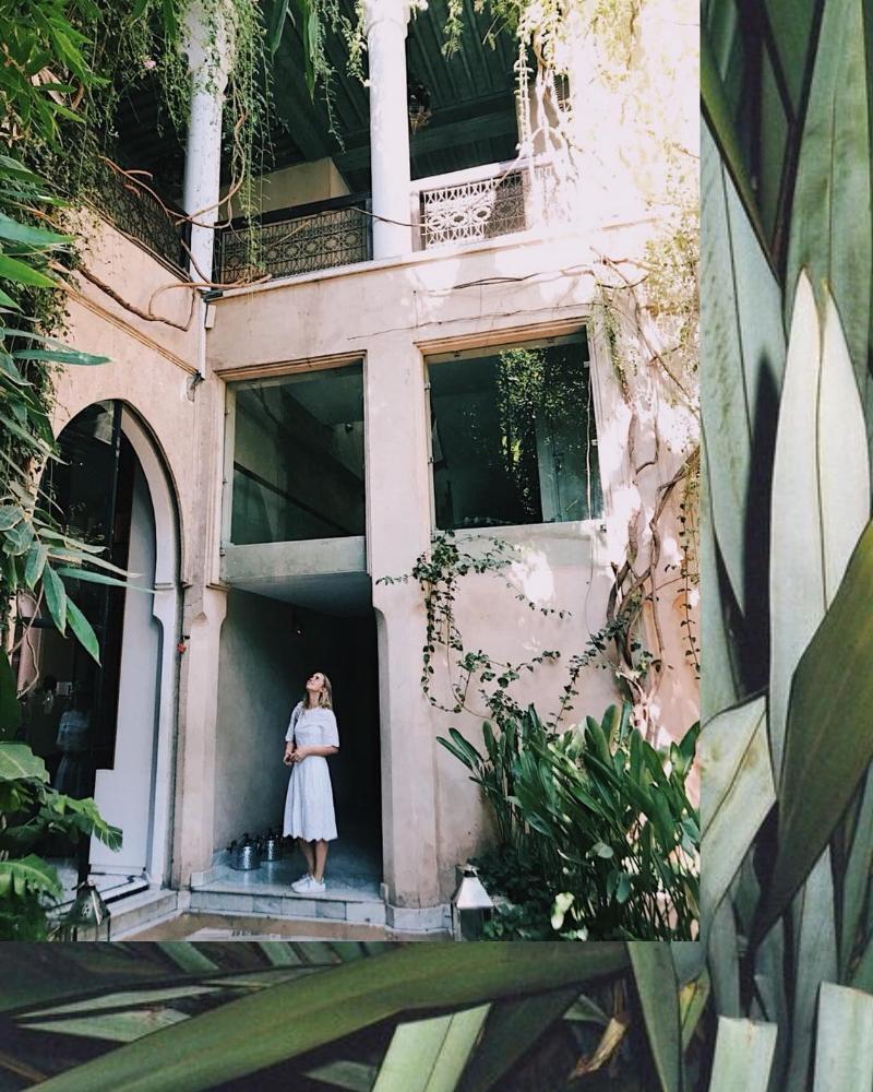 Riad El Fenn, Gardens