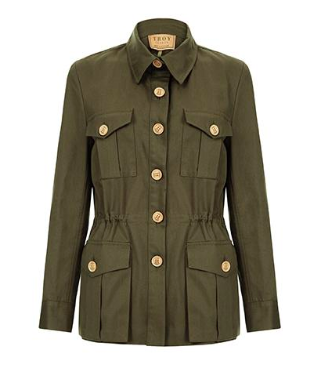 THE TRACKER JACKET IN OLIVE