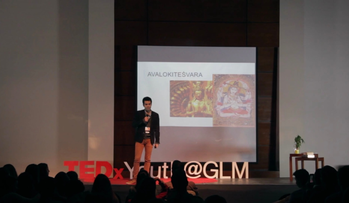 Camilo and his TEDx Talk on narratives and the self