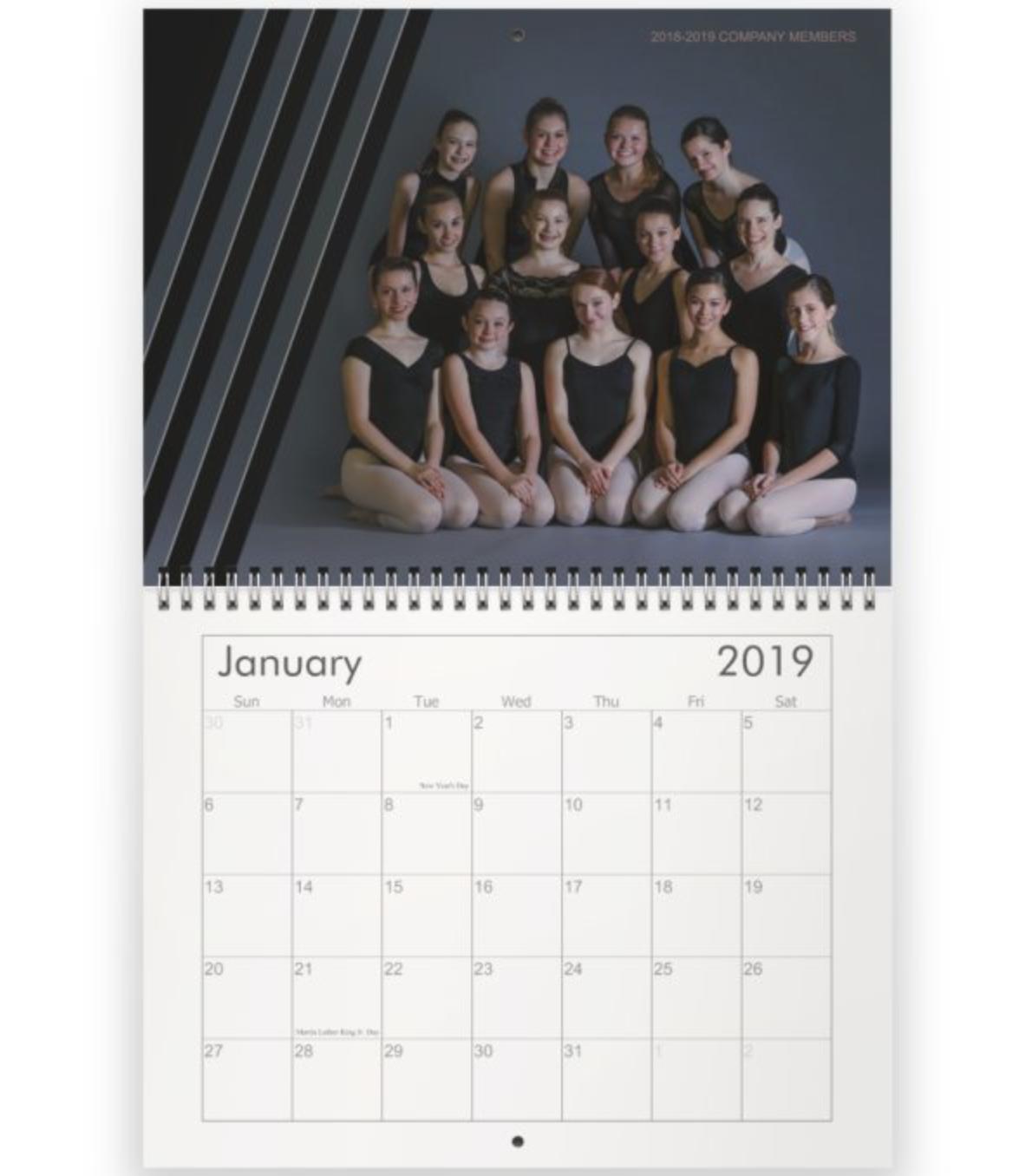 Wall Calendar - 8.5 x 11 Wall Calendar1 $252 $303 $404 $50