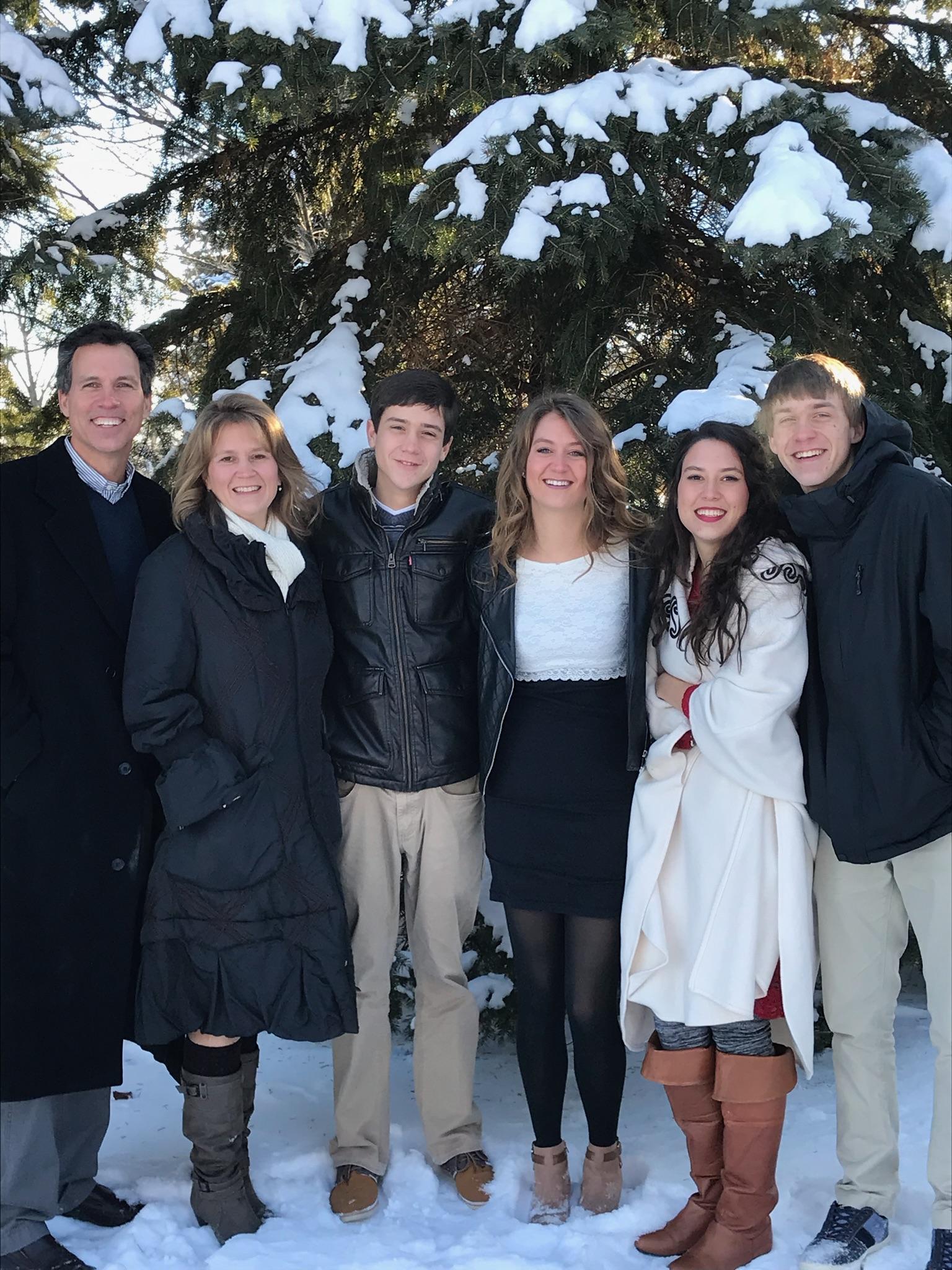 Many Blessings, - From the Stevens Family