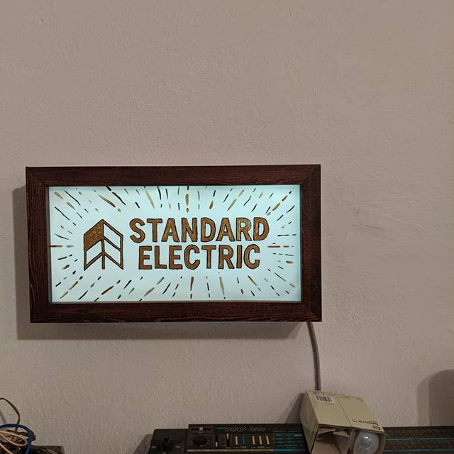 laying some tracks down today at @standardelectricrecordersco . very excited for you to hear these tunes. 3 songs coming your way, soon ♥️