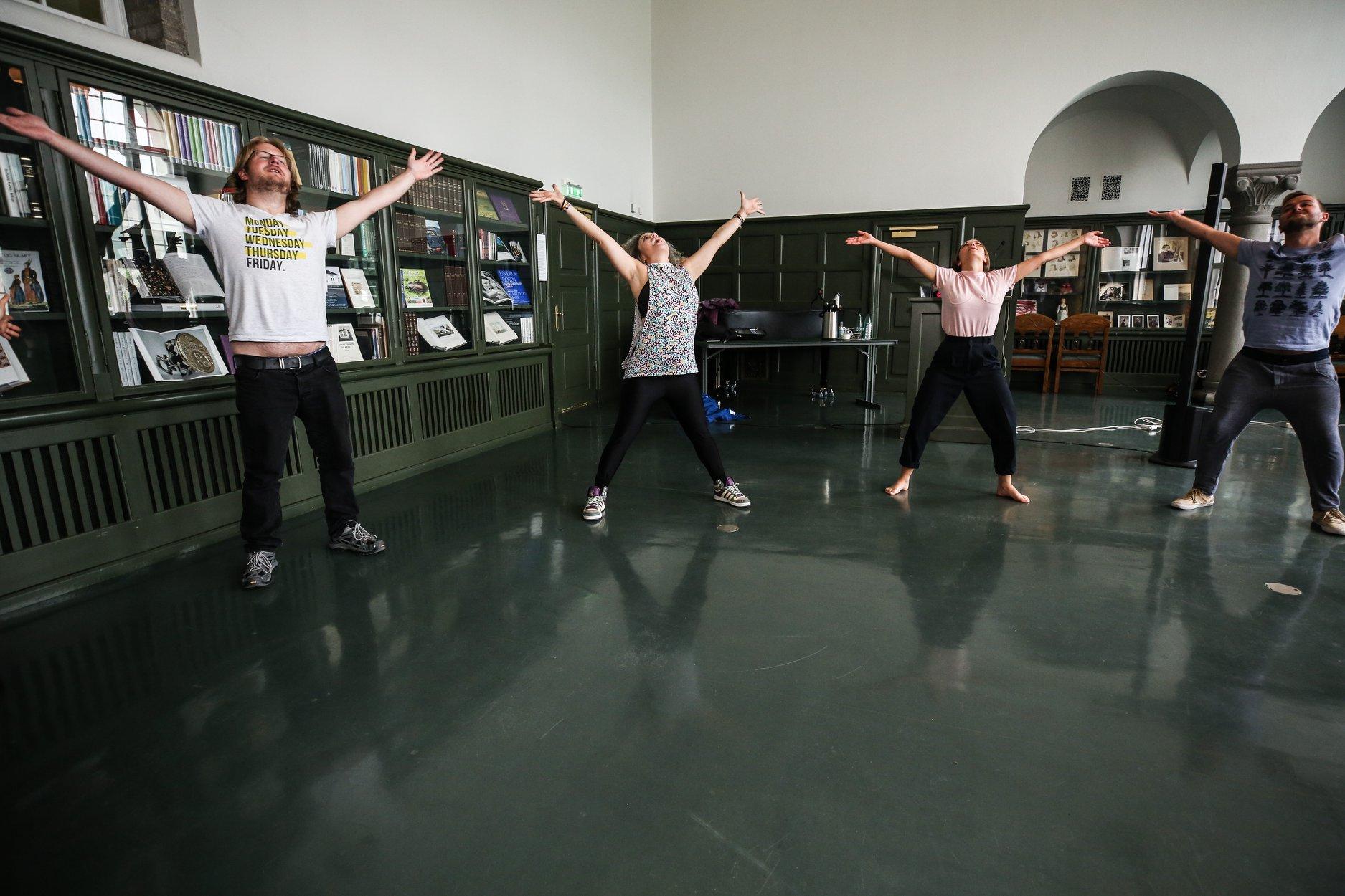 """Dance Like Everyone's Watching"" Workshop. Photo by Grace Chu"