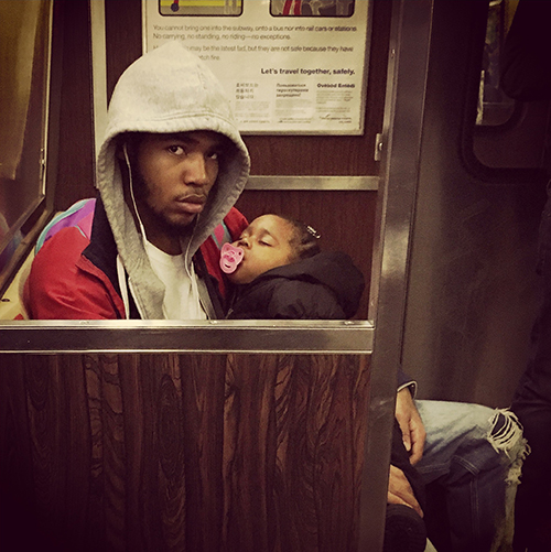 G train, Brooklyn, 2016