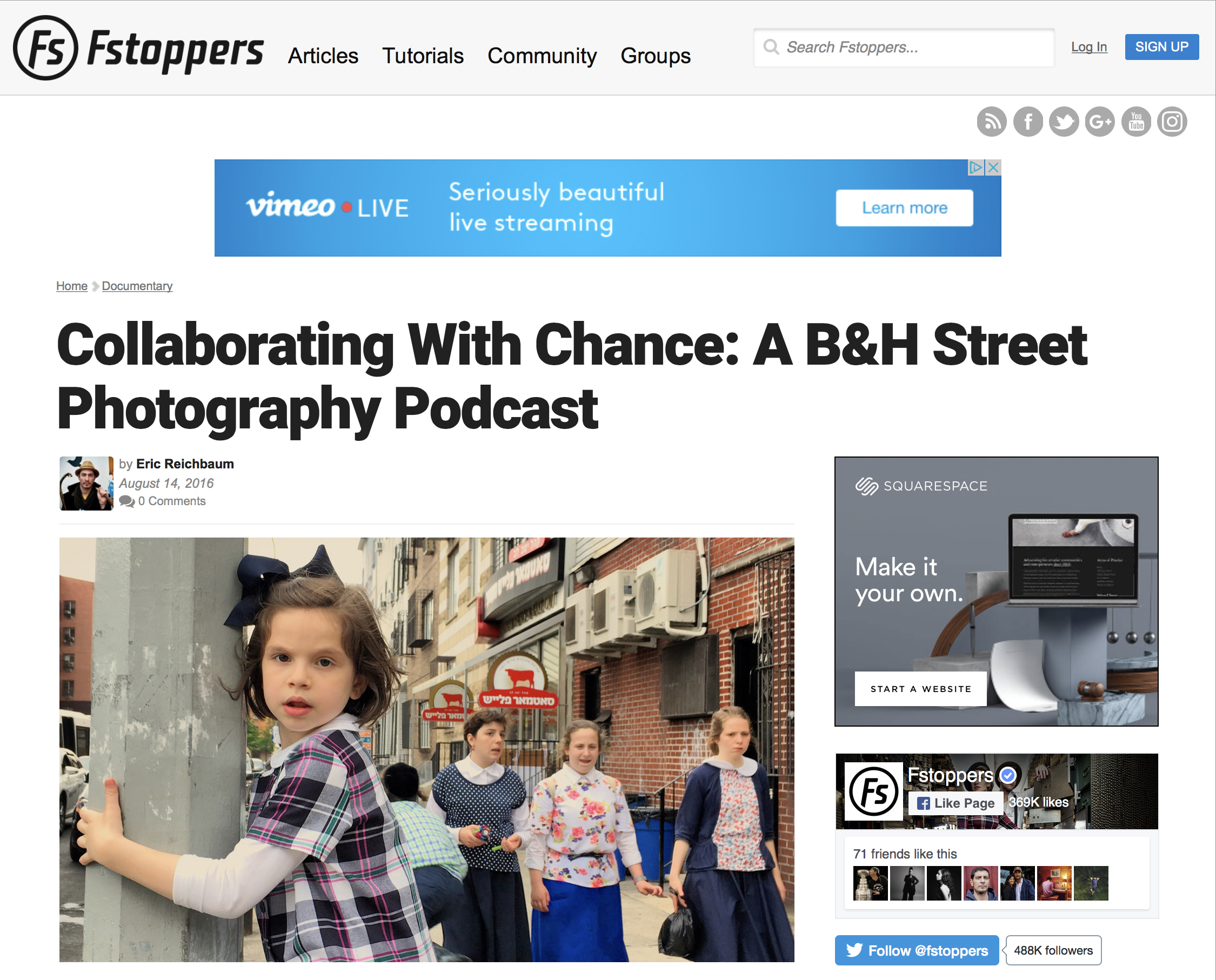 Fstoppers,Review of B&H Photography Podcast - AUGUST 14, 2016 Fstoppers is an online community aimed at educating and inspiring photographers, videographers, and creative professionals. Started in 2010 by founders Patrick Hall and Lee Morris, Fstoppers has grown into one of the top resources for photography lighting, gear reviews, business tips, behind the scenes, and industry news.