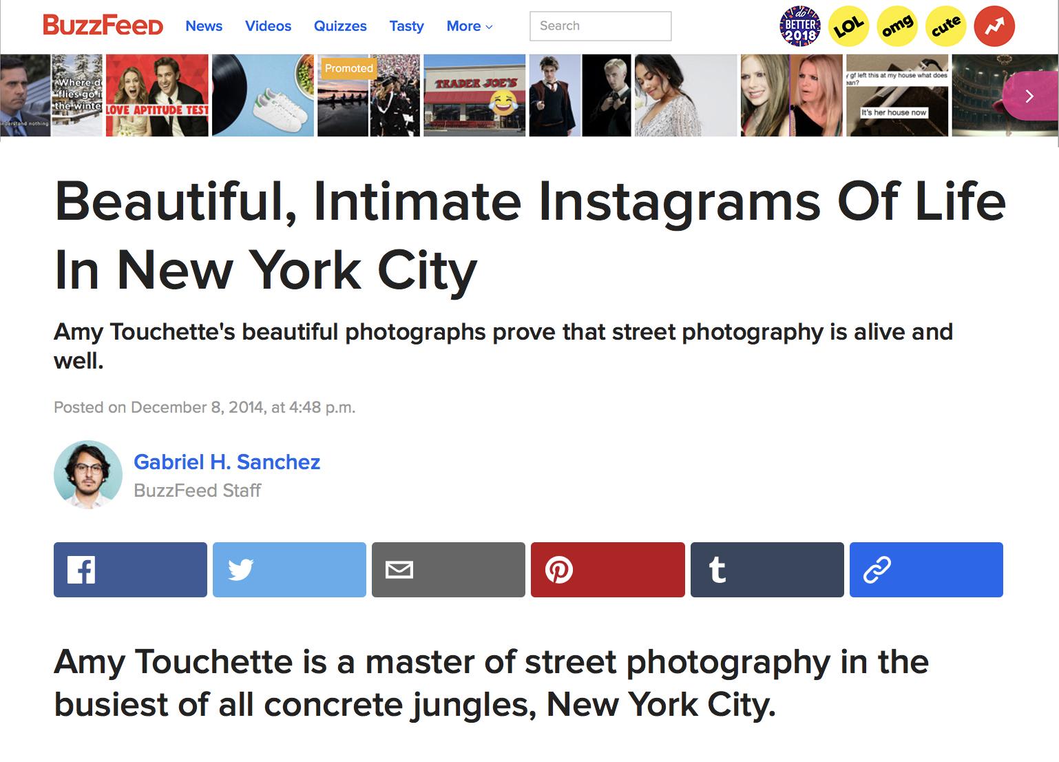BuzzFeed,Street Dailies - DECEMBER 8, 2014