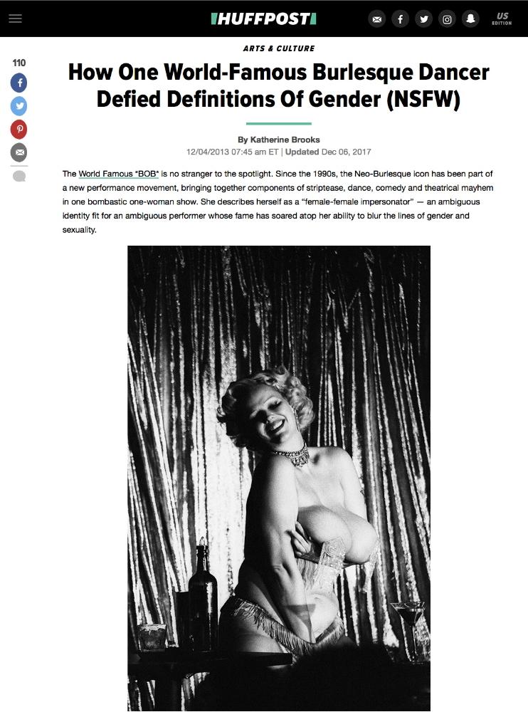 Huffington Post,Shoot the Arrow - DECEMBER 4, 2013