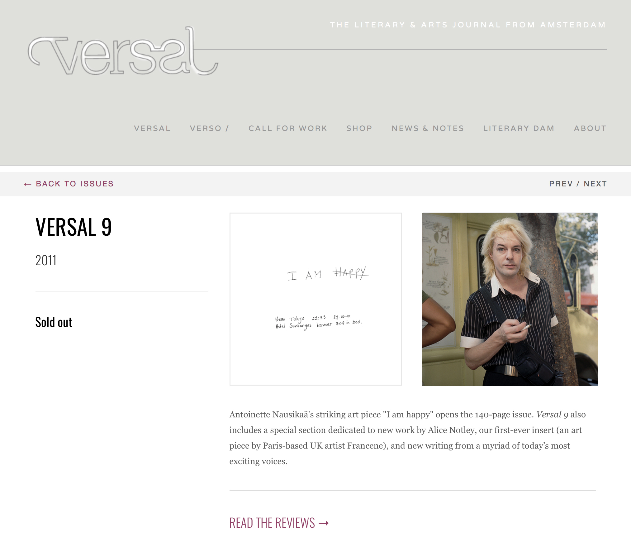 Versal Journal,The Insiders - MAY 2011 Versal is a literary & arts journal based in Amsterdam, the Netherlands.