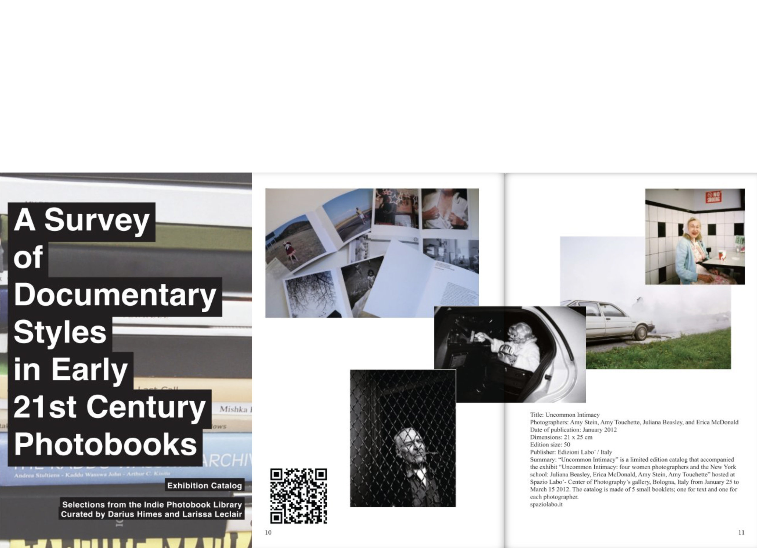 A Survey of Documentary Styles in Early 21st Century Photobooks,Shoot the Arrow - SEPTEMBER 14-OCTOBER 18, 2012: Independent publisher Edizioni Labo's catalogue from