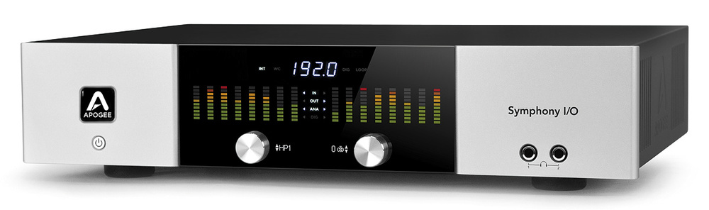 Apogee Symphony   One of the highest AD / DA converters on the market, found in many of the worlds best recording studios. Up to 192Khz to capture every nuance of the recording if needed.