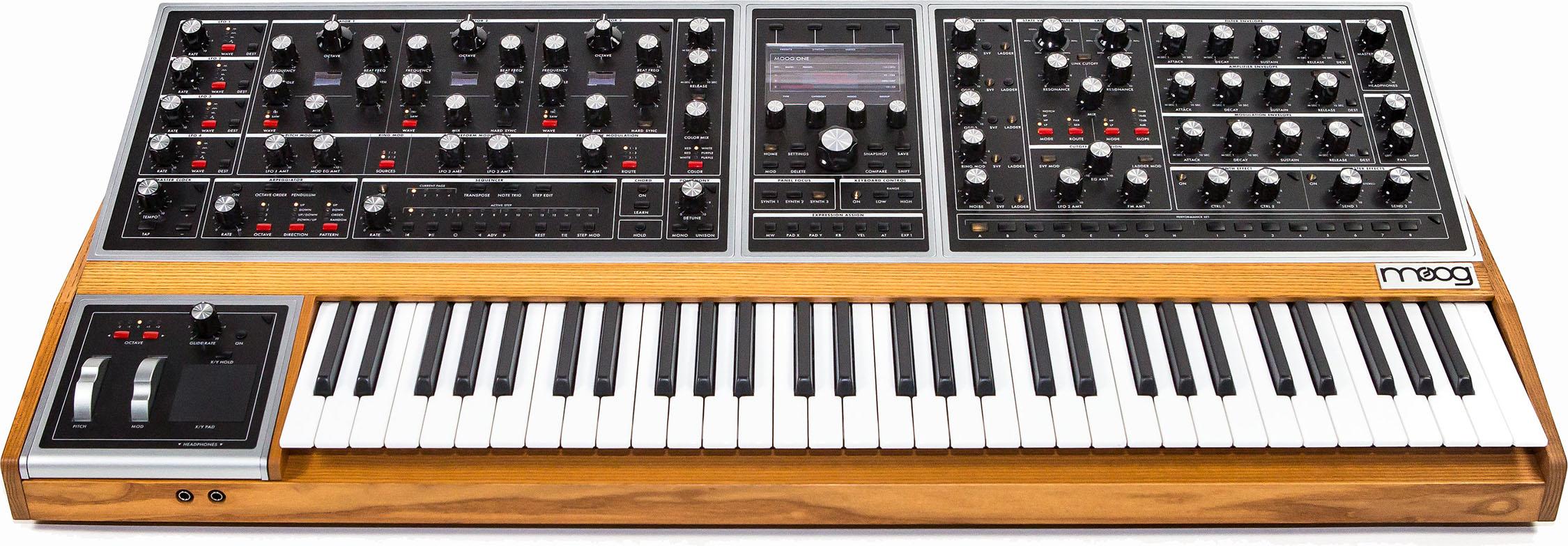 Moog One - Finally a true monster polyphonic Moog