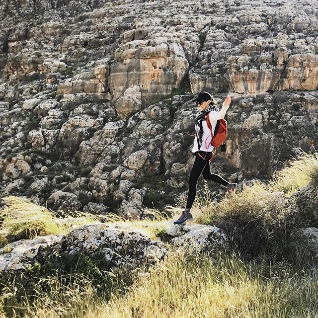 Hiking is my happy place 🌱😍🤸🏻‍♀️❤️🇵🇸 #thisisadventure #masaribrahim #Palestine