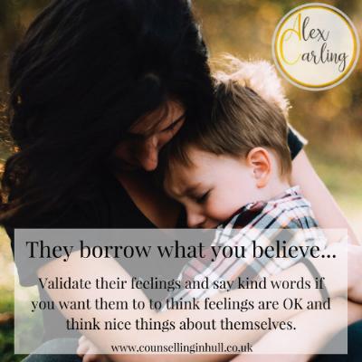 Validate their feelings