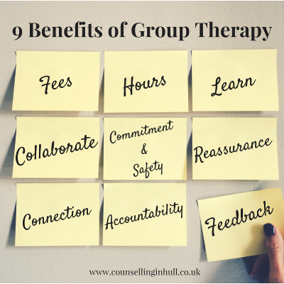 9 benefits of group therapy