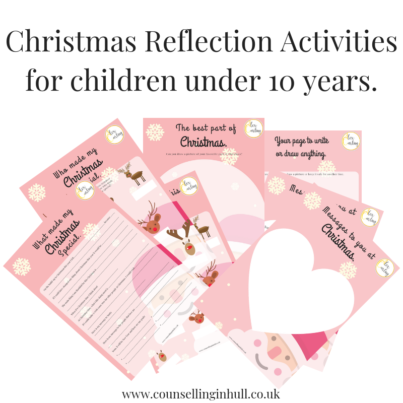 Christmas reflection activity for children