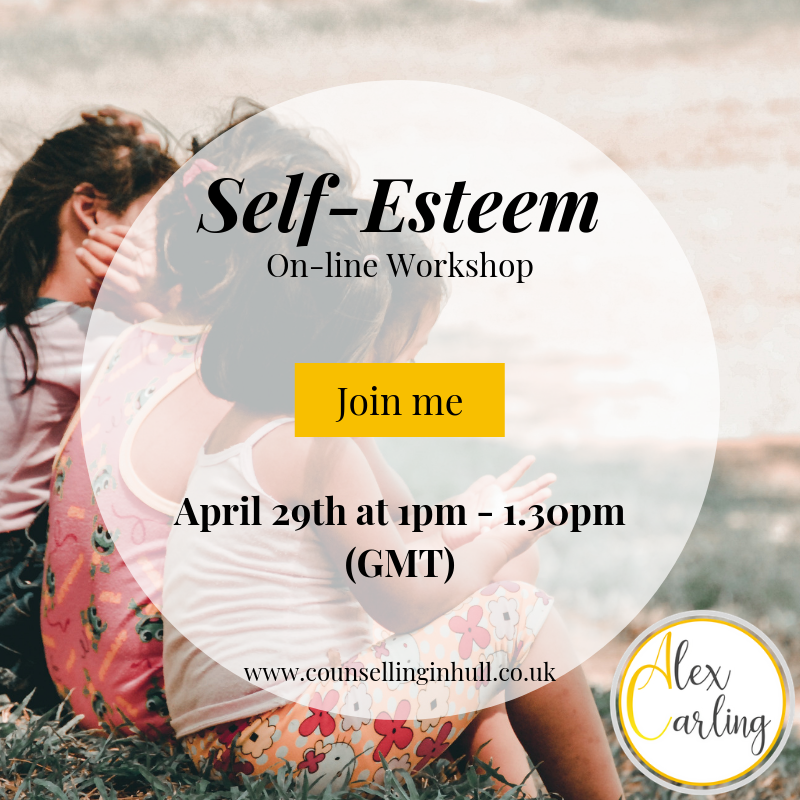 Self-Esteem online workshop
