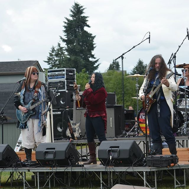 From our show at the Eatonville Fireworks festival.  #OneSultryDay #LiveMusic #Concert