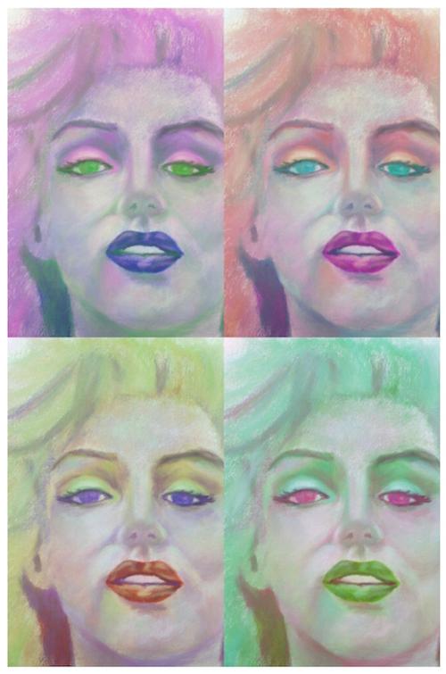 Shades of Marilyn 3 _ Ubiquitous Chameleon _ Barbara Madden.jpg