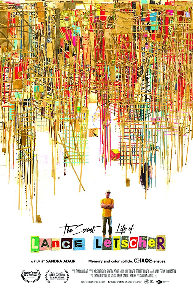 The Secret Life of Lance   Letscher  Dir. Sandra Adair (documentary feature)  Design, edit, re-recording.