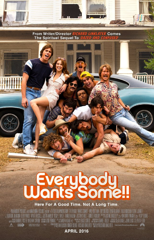 Everybody Wants Some  Dir. Richard Linklater (narrative feature)  Design, edit, ADR record, foley re-record, and re-recording.