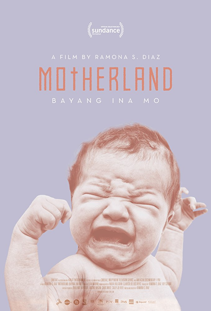 Motherland  Dir. Ramona Diaz (documentary feature)  Design, edit, re-recording.
