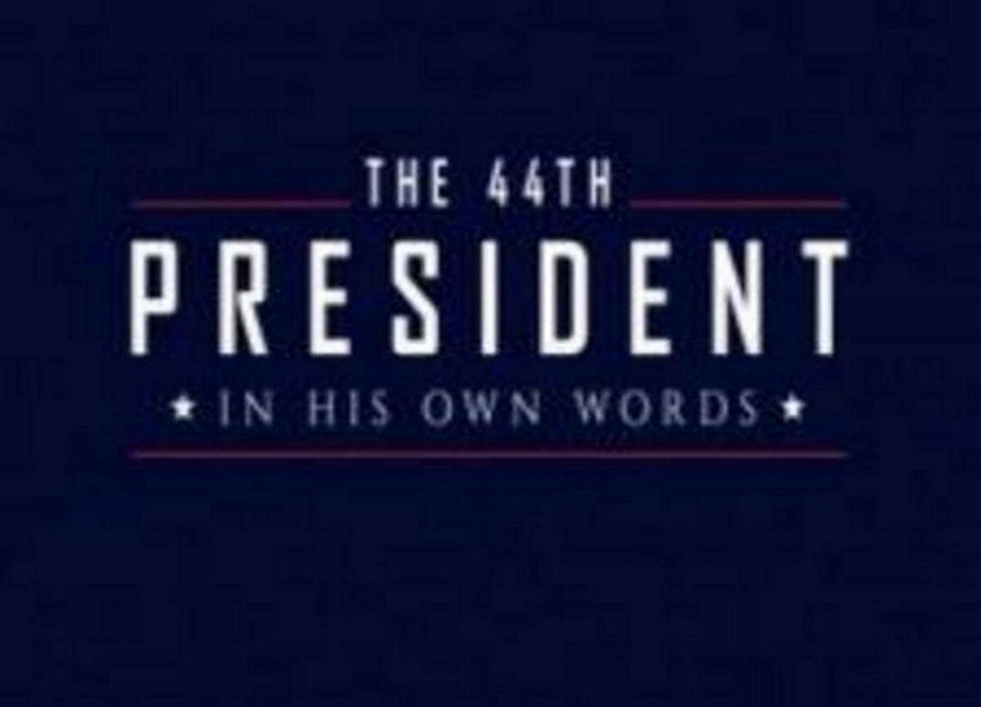 The 44th President: In His Own Words  Texas Crew Productions for History Channel (TV documentary)  Edit and re-recording.