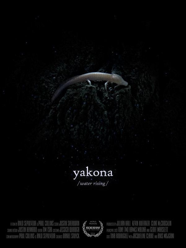 Yakona  Dirs. Paul Collins, Anlo Sepulveda (documentary feature ) Design, edit, re-recording.