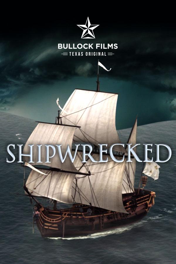 Shipwrecked    Bob Bullock Texas State History Museum  (4D- 3 screen, 12 audio track, multi effect presentation)  Editing, deign, re-reccording.