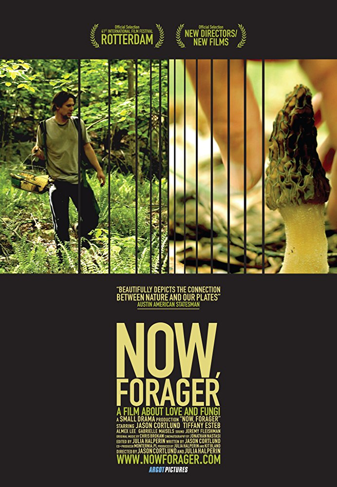 Now Forager  Dir. Jason Cortlund and Julia Halperin  (narrative feature)  Foley recording, re-recording room rental.