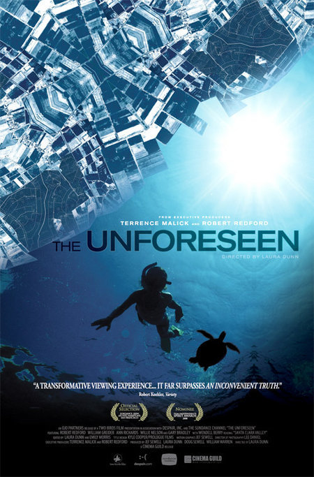 The Unforeseen  Dir. Laura Dunn (documentary)  Sound design, field recording, editing, and re-recording.