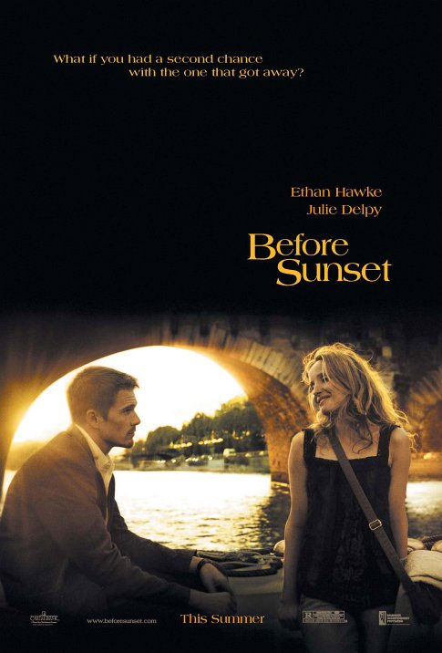 Before Sunset  Dir. Richard Linklater (narrative feature)  Editing, design, re-recording. Final re-record mixing and printmastering completed at Swelltone Labs..