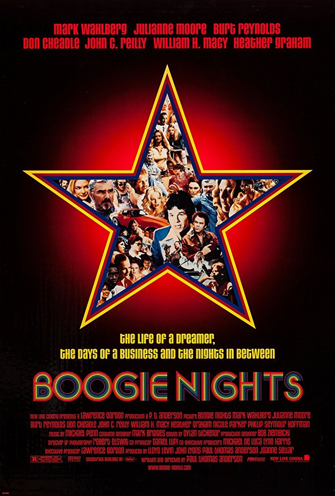 Boogie Nights  Dir. Paul Thomas Anderson (narrative feature)  Foley editing.