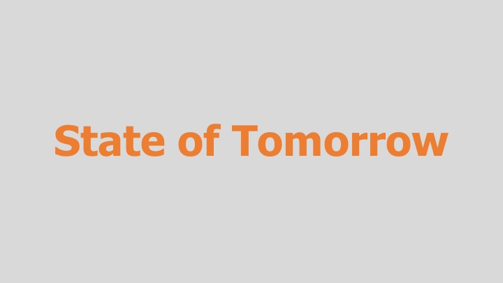 State of Tomorrow    PBS / Alpheus Media  (13 part documentary series)  Editing and re-recording