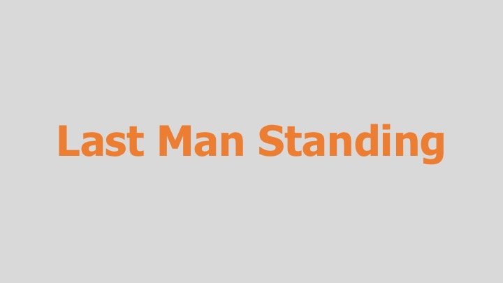 Last Man Standing  PBS (documentary feature)  Editing and re-recording.