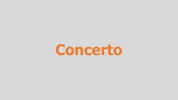 Concerto  Independent (documentary feature)  Editing and re-recording.