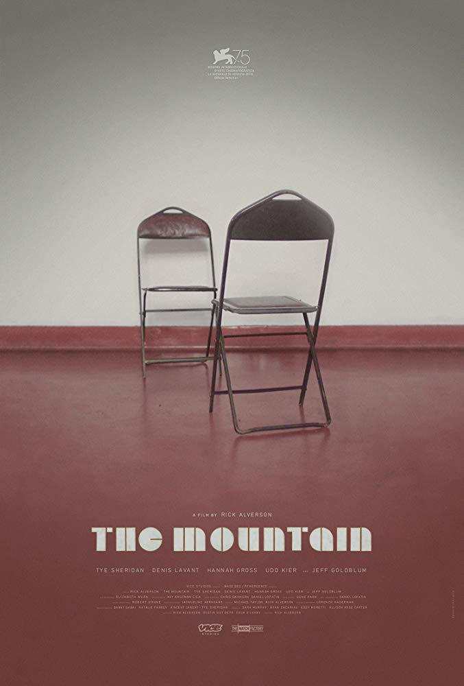 The Mountain  Dir. Rick Alverson (narrative feature)  ADR recording