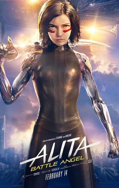Alita: Battle Angel  Dir. Robert Rodriguez (narrative feature)  ADR recording
