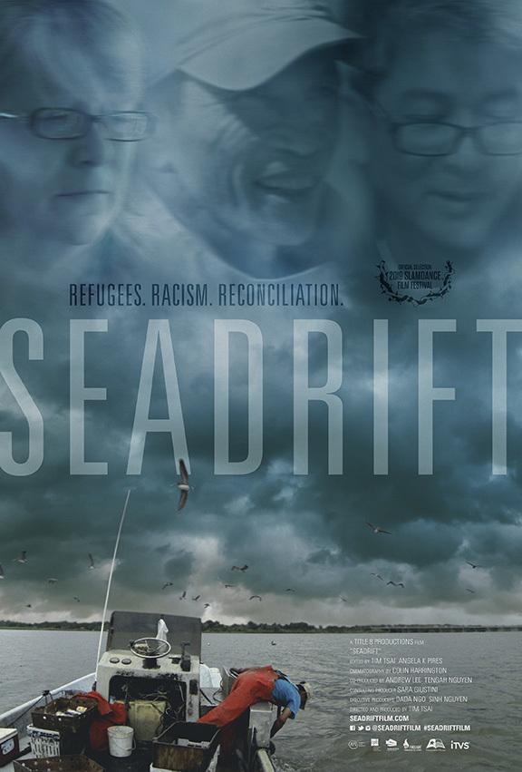 Seadrift  Dir. Tim Tsai (documentary feature)  Design, edit, re-recording.