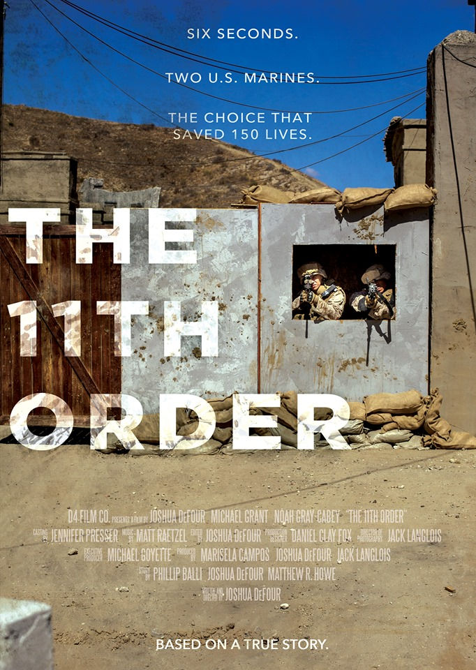 The 11th Order  Dir. Joshua DeFour (narrative short)  Design, edit, foley record, and re-recording.