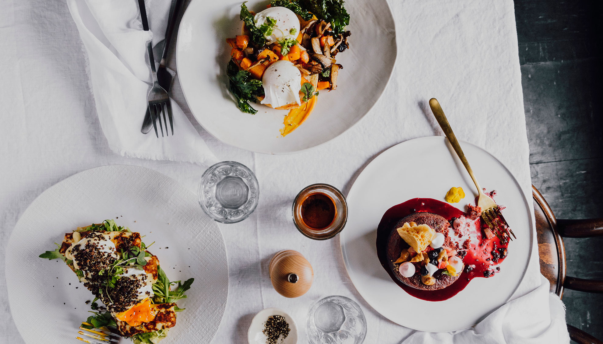 Rise - A breakfast and lunch menu, unlike any else you'll find on Lygon Street.