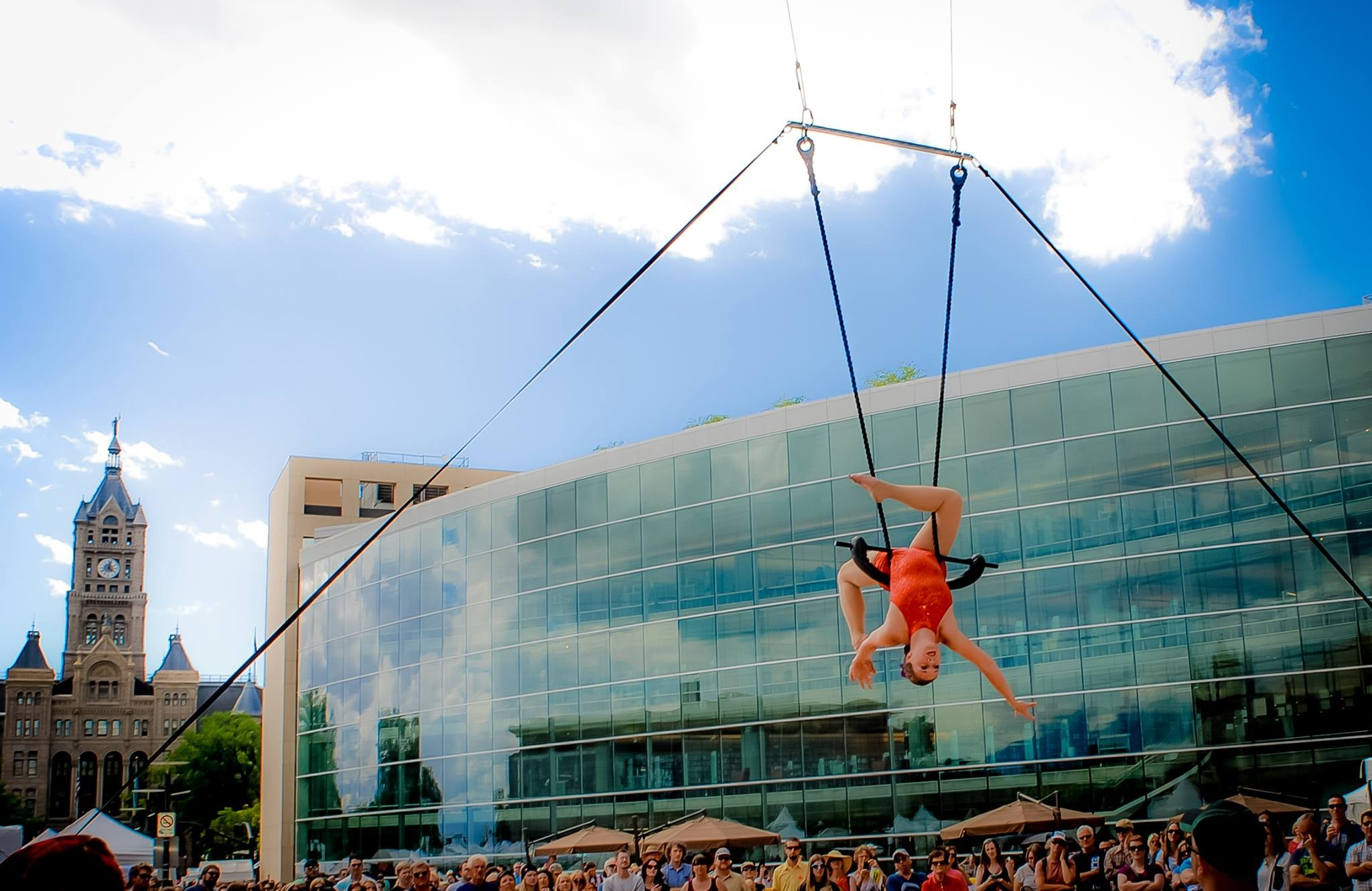 Aerial Arts of Utah @ Utah Arts Festival, Piper Mathews Ferrell , Trapeze