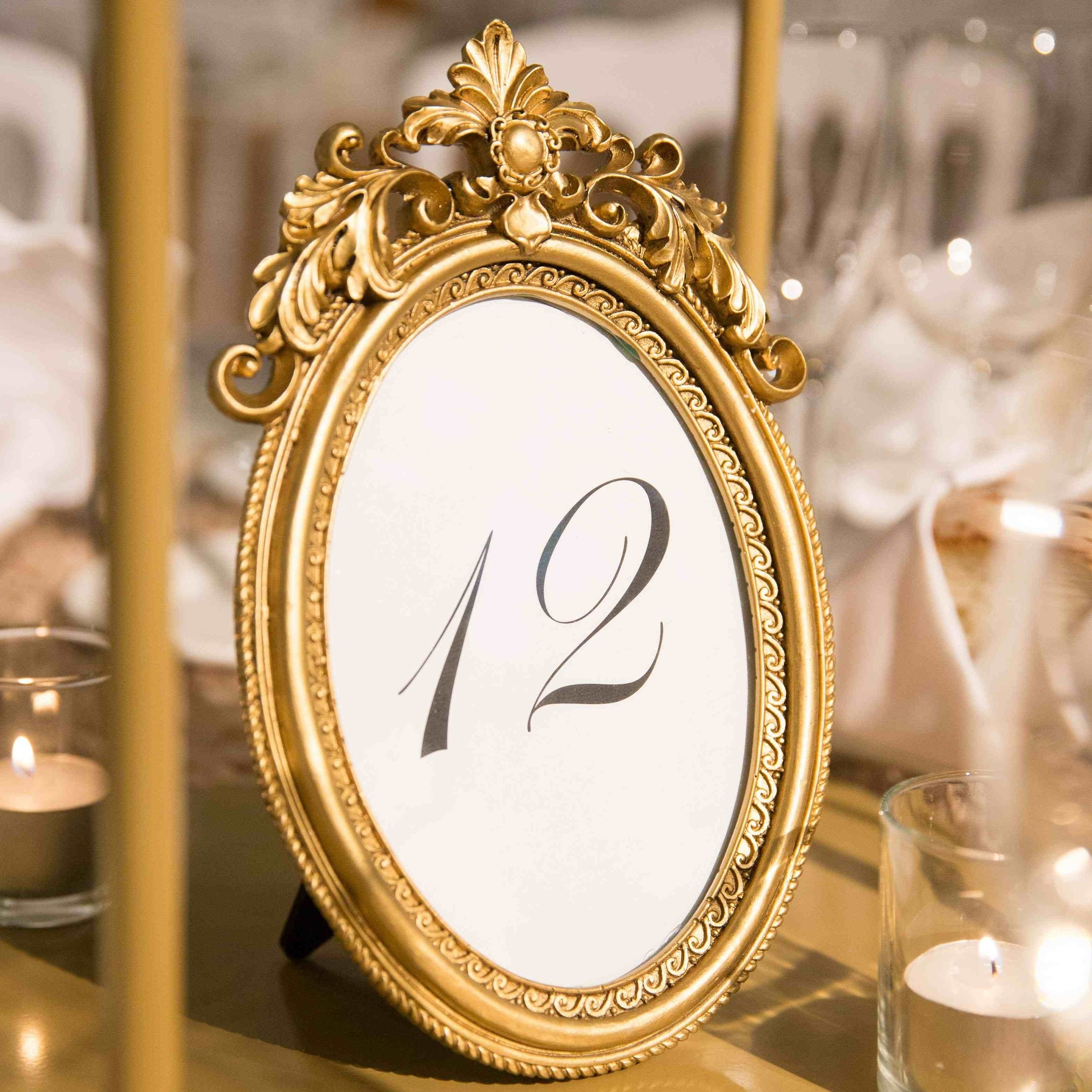 Ornate Oval gold table number.jpg