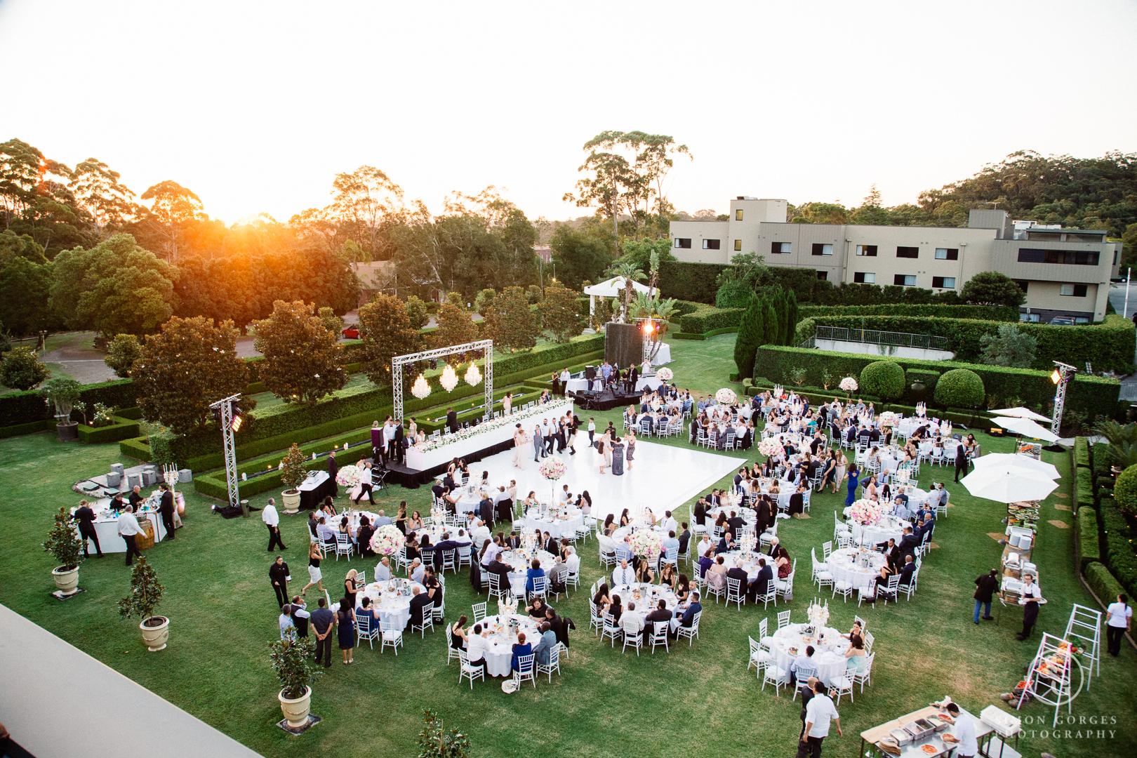 A Garden Reception -