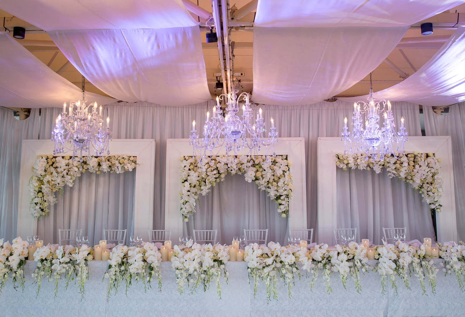 An Elegant White Wedding -