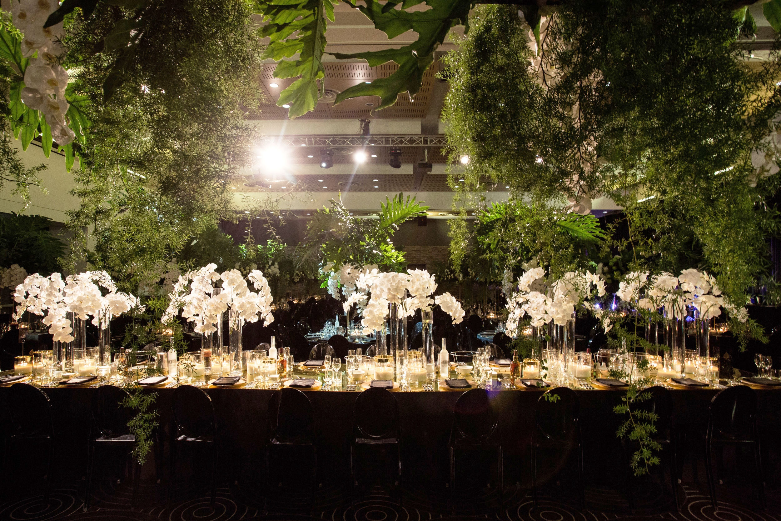 waterview_black_gold_green_wedding_ceiling_installation.jpg